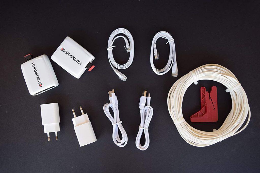 ACTELSER Kit Básico de Fibra Óptica Plástica Snap Data