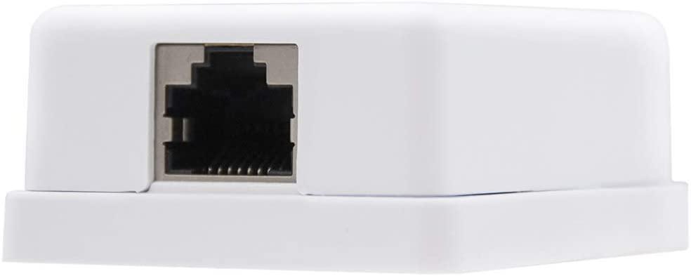 Roseta de Superficie RJ45 con 1 Toma de conexión Cat.6 FTP, Blanco