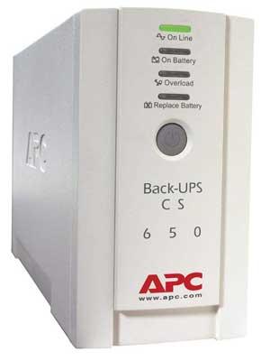 APC by Schneider Electric BK650EI Back UPS CS