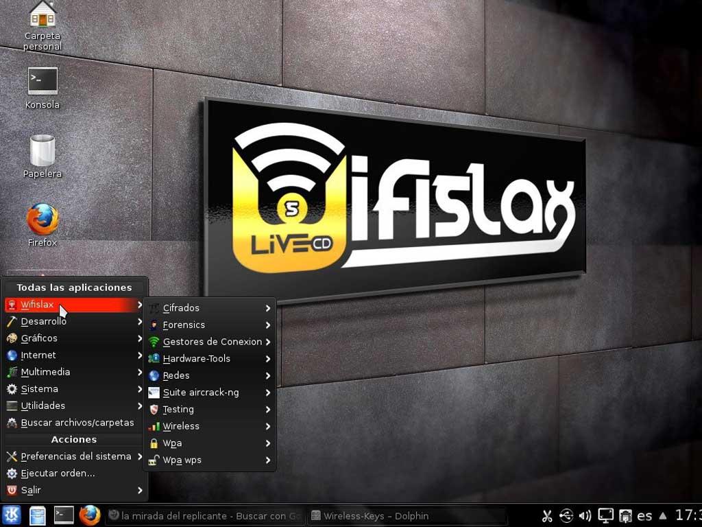 Wifislax - Auditoria de redes inalámbricas / wifi
