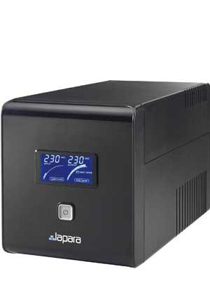 Lapara LA-ITR-1000SH Sistema de Alimentación Ininterrumpida SAI 1000VA 700W LCD Interactivo Sinusoidal pfc activo