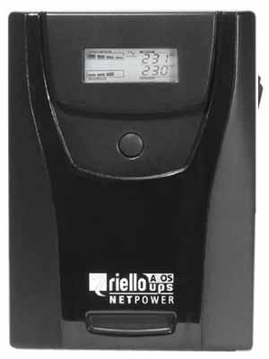 Riello NPW1500 - Sistema de alimentación ininterrumpida